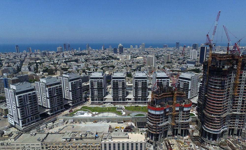 מגדלי לב תל אביב ( שוק סיטונאי ) גינדי סיטי